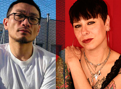One on One: Justin Chin and Daphne Gottlieb