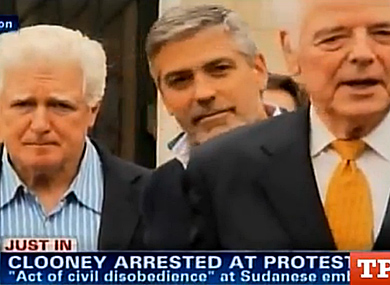 WATCH: George Clooney Arrested at Protest in D.C.