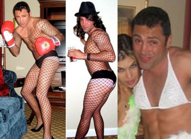 Oscar De La Hoya Admits Drag Photos Are Real and He Contemplated Suicide Over Them