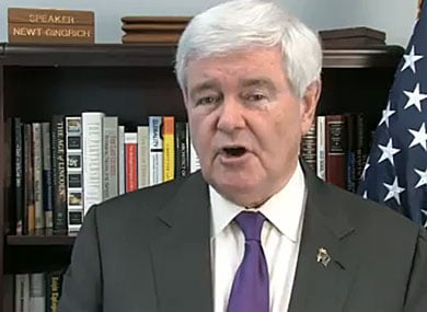 Newt Gingrich Posts Antigay Video in North Carolina