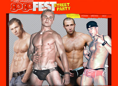 Gay male go go dancers