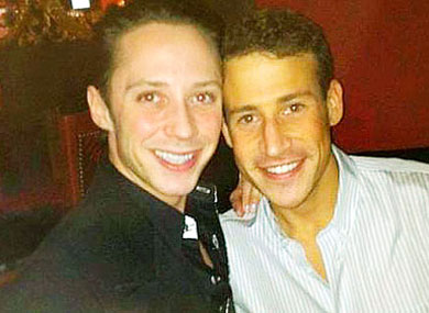 Johnny Weir Marries Boyfriend