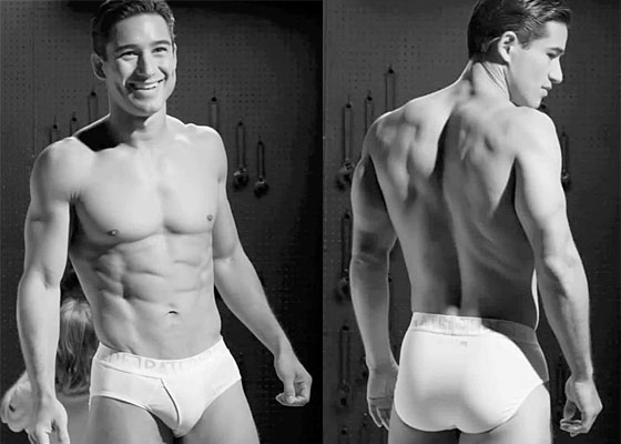 Mario Lopez Shows Off With Rated M