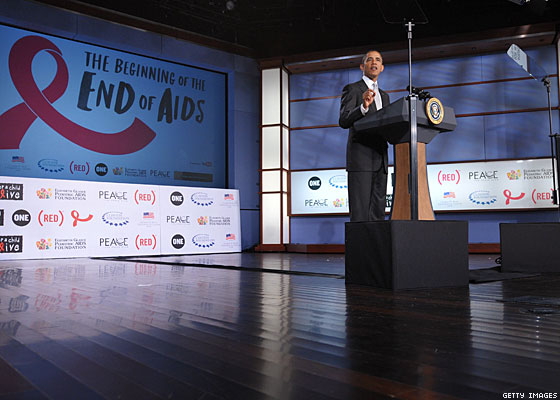 Obama Steps Up Fight Against HIV
