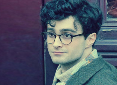 FIRST LOOK: Daniel Radcliffe As Allen Ginsberg