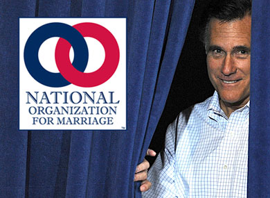 Mitt Romney Is a NOM Donor, Document Shows