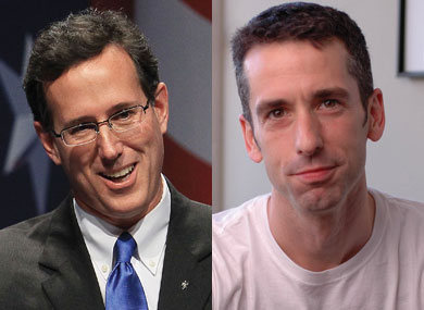 "Savage to Santorum: ""I'll Gay for Him"""