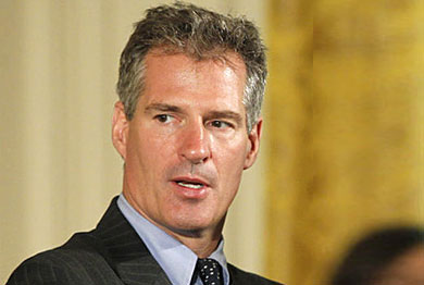 Scott Brown Makes No Promises in LGBT Newspaper