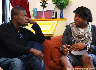 Tracy Morgan Meets With Gay Youths Shunned By Parents