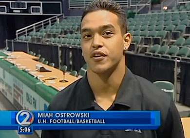 Hawaii's Top College Athletes Say No to Bullying