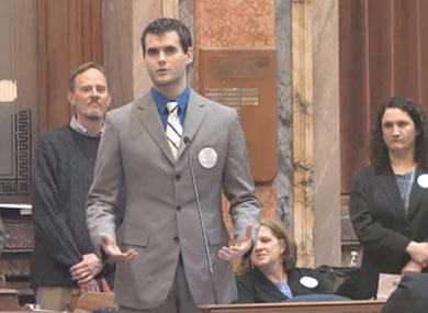 This Weekend: Zach Wahls Speaks Out Against N.C. Marriage Amendment