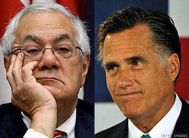 Barney Frank Says Romney's Talk Cheapens Marriage Equality