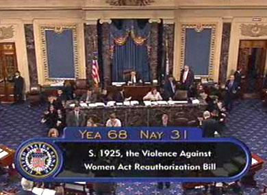 Senate Passes LGBT-Inclusive Domestic Violence Act