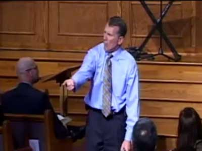Video Shows N.C. Pastor Sean Harris Clearly Has a Problem With Gay People