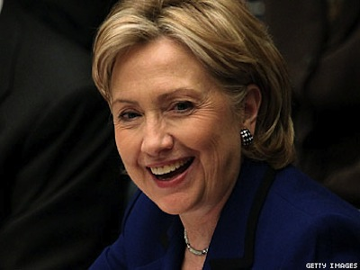 Secy. Clinton to Receive London Pride Award
