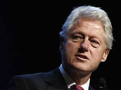Bill Clinton Comes Out Against Amendment 1