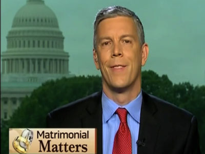 Education Secretary Arne Duncan Supports Marriage Equality