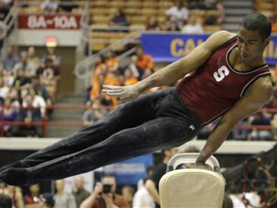 Will Josh Dixon Be the First Openly Gay Gymnast at the Olympics?