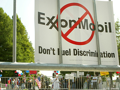 Antigay ExxonMobil Tops Fortune 500