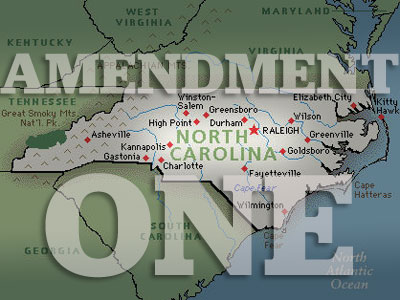 North Carolina Passes Constitutional Ban on Marriage Equality