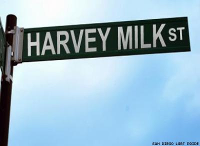 San Diego Gets the World's First Harvey Milk Street