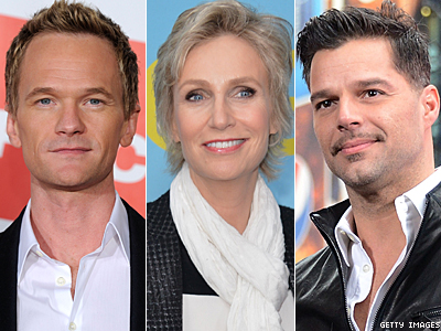 Ricky Martin, Jane Lynch, Celebrities React to Obama's Support of Marriage Equality