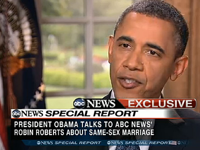 WATCH: The Historic Interview Where Obama Stood Up for Gay Rights