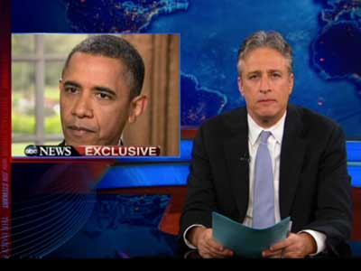 Jon Stewart Feels the Up and Down of Obama and North Carolina
