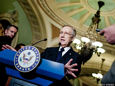 Harry Reid Suddenly Supports Marriage, Vote on DOMA Repeal