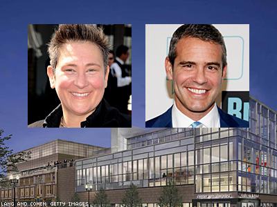 Andy Cohen and k.d. lang Celebrate Chicago Center Tonight