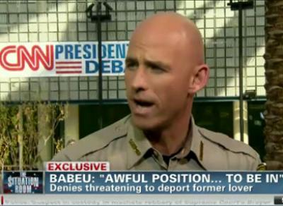 Arizona Sheriff Wants to Bridge Chasm Between Gays and Republicans
