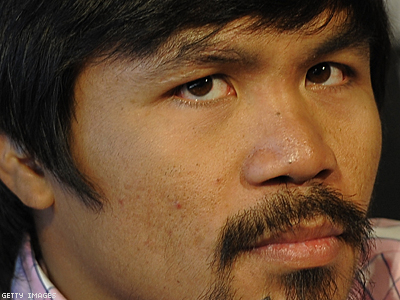 Boxer Manny Pacquiao Denies Making Antigay Remarks
