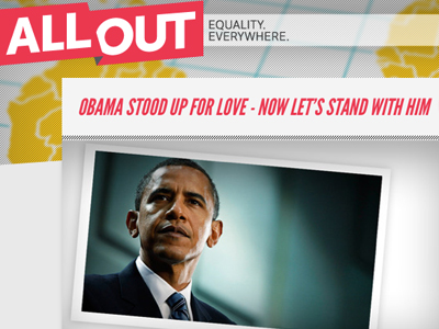 Showing Gratitude for the President's Marriage Equality Announcement