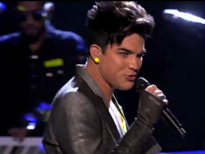 Adam Lambert Performs New Single on American Idol