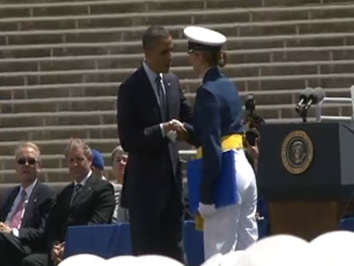 First Openly Gay Cadets Graduate from Air Force Academy