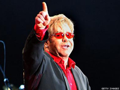 Elton John In Hospital With Serious Respiratory Infection