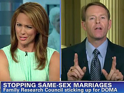 CNN Interviewer Challenges Tony Perkins on Antigay Views