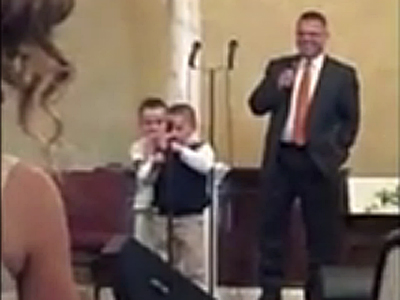 Video Shows Child's Antigay Hymn Getting Huge Applause
