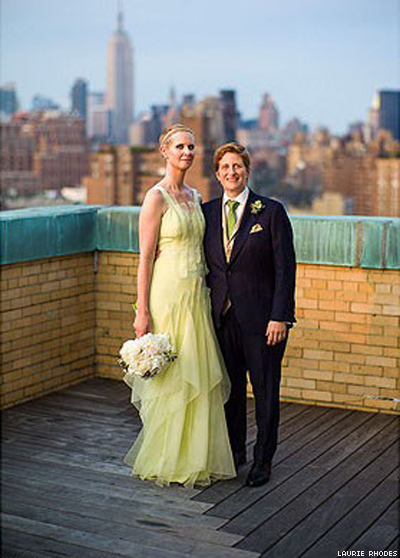 Cynthia Nixon's Wedding Portrait Revealed