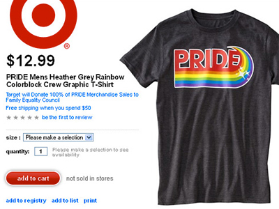 T-Shirt Sales for Pro-Equality Group Put Target in Right Wing's Sights