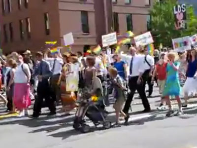 Over 300 Mormons March in Utah Gay Pride Parade