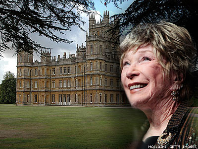 Shirley MacLaine Says Downton Abbey Set Seemed Haunted