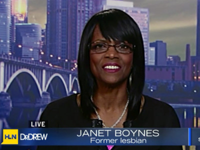 Janet Boynes Claims She's Ex-Gay and Anderson Cooper Won't Let Her Talk About It