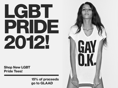 American Apparel Unveils New T-Shirt Slogan for Pride