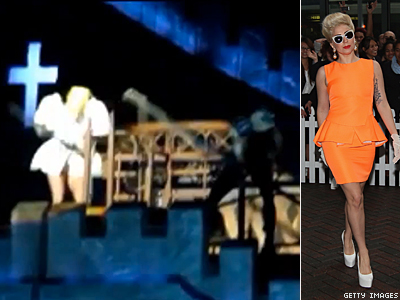 WATCH: Lady Gaga Suffers Concussion, Continues Concert