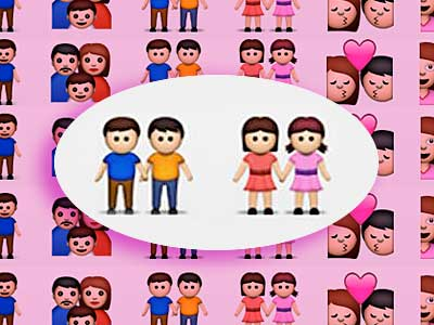 Send a Little Gay Couple With Your Text