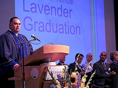 Gay California Assembly Speaker Addresses LGBT Grads