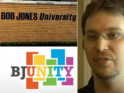 'BJUnity' Offers Support to Gay Alums of Bob Jones University