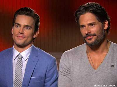 Joe Manganiello and Matt Bomer Explain How to Strip