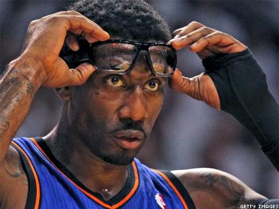 Knicks' Amare Stoudemire Fined for Antigay Tweet
